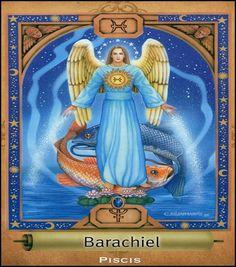 angel barachiel | ANGEL BARACHIEL, SIGNO DE PISIS