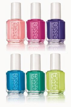Essie Neon 2015 Summer Collection