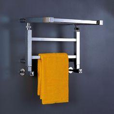 Ideal for modern bathrooms we love this Phoenix Adam heated towel rail.