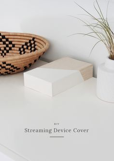 DIY streaming device cover   almost makes perfect