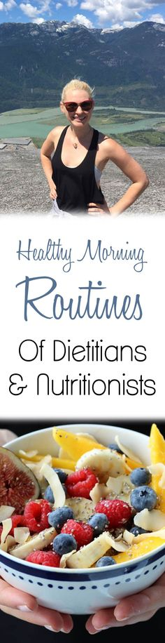Want to know what nutritionists do as part of their healthy morning routines? I interview the top dietitians and share my own #morningmoments!