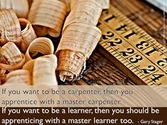 If you want to be a learner...