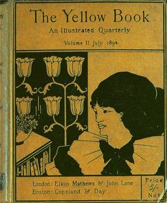 """The cover of """"The Yellow Book"""" (1894)"""