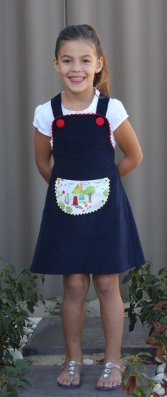 The Pippi Dress | Miss Mary Sewing Classes