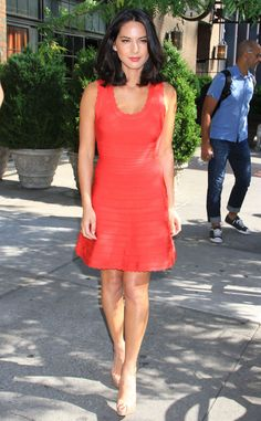 Coral Confection from Celebrity Street Style | E! Online-Olivia Munn