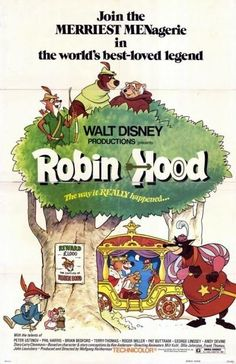 Robin Hood (1973) Walt #Disney  Phil Harris, Peter #Ustinov, Terry #Thomas