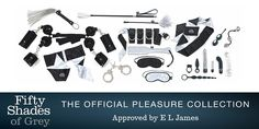 Official Fifty Shades of Grey collection