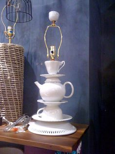 Teapot Lamp - Anthropologie
