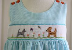 Creations By Michie` Blog: smocking. The smocking plate can be found in Sew Beautiful Magazine issue #125.