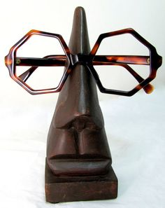 Groovy baby....  Vintage Spectacle Frames Retro 1960s Optical Brown by keepsies, £12.00