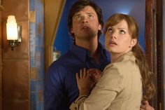 Clark Kent and Lois Lane. Smallville has the best Lois ever