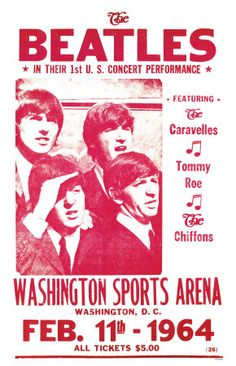 The Beatles First Concert at Washington Sports Arena 1964