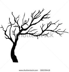 Simple Black And White Tree Branches | Clipart Panda - Free ...