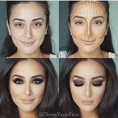 We ❤️ this makeup transformation! @dressyourface #saudibeautyblog