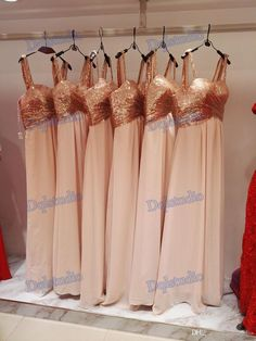 Sequins Chiffon Bridesmaid Dresses Rose Gold Sequins Chiffon Bottom Sweetheart Sleeveless Zipper Back Real Photos 2017 New Arrival Bridesmaid Dress Bridesmaid Dresses 2017 Online with $99.0/Piece on Dqlstudio's Store | DHgate.com
