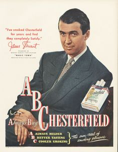 Advertisements From the 1920s | Comment: James Stewart (1908 - 1997) Was an American born actor and ...