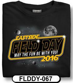 7daa050c Design Custom Full Color Designs T-Shirts Online by Spiritwear Field Day,  Team Apparel