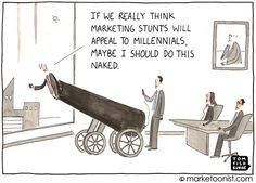 #Marketing Stunts | Cartoon of the Week by the marketoonist