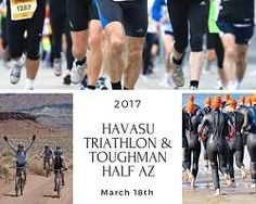 Cheer on the athletes as they compete in the 2017 Havasu Triathlon and Toughman Half Arizona at Windsor Park this Sat, March 18th, beginning at 7:30am.