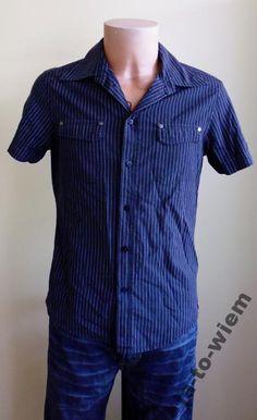 Esprit Koszula Męska krótki rękaw rozmiar M