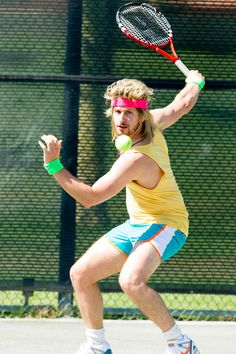 Andy Samberg and Jon Snow play tennis in 7 Days in Hell teaser   EW.com