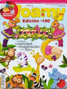 Moldes animales bebes en foamy Foam Crafts, Crafts To Make, Diy Crafts, Painted Books, Animation, Teacher Gifts, Coloring Pages, Floral Design, Applique
