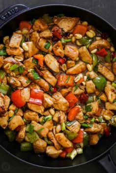 The BEST Kung Pao Chicken - NatashasKitchen.com Asian Recipes, New Recipes, Dinner Recipes, Ethnic Recipes, Chinese Recipes, Asian Foods, Yummy Recipes, Favorite Recipes, Yummy Food