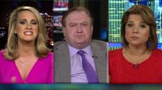 Tempers flare in an exchange between CNN political commentators Ana Navarro and Scottie Nell Hughes when discussing Donald Trump's leaked 2005 video.