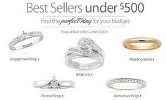 Affordable Engagement Ring Sets