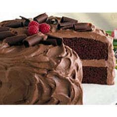 Chocolate Mousse Cake - featured on Food2Fork.  #food2fork #chocolate #yummy #cake