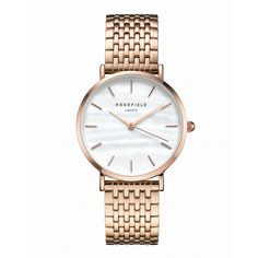 91e2aa1b53a18 Rose gold ladies watch The Upper East Side - rose gold strap