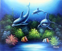 . Sea Life Art, Life Drawing, Painted Rocks, Whale, Drawings, Rock Painting, Animals, Creative, Underwater Painting