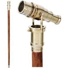 Victorian Walking Stick | Walking Stick with Built-in Telescope: for the Victorian Perv in You
