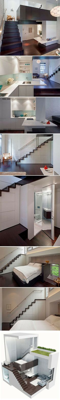 This is how all small homes should be designed.
