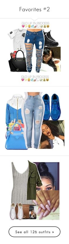 """""""Favorites #2"""" by deeconfidental ❤ liked on Polyvore featuring NIKE, Topshop, MICHAEL Michael Kors, Converse, Barclay Butera, Puma, adidas, Roque, T By Alexander Wang and CÉLINE"""