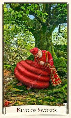 King of Swords - Alice Tarot Dear Alice, King Of Swords, Alice In Wonderland Illustrations, Alice Liddell, Tarot Card Meanings, Adventures In Wonderland, Tarot Decks, Deck Of Cards, Tarot Cards