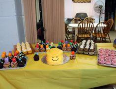 Lego Cupcake Spread