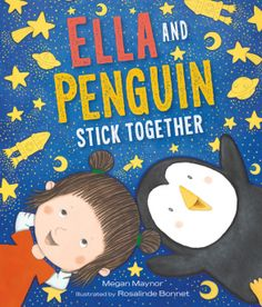 Ella and Penguin Stick Together (Book) : Maynor, Megan : Ella and Penguin want to see her new stickers glow in the dark, but neither of them wants to go into a dark place. Scared Of The Dark, Fear Of The Dark, All You Need Is, Order Book, New Sticker, Children's Picture Books, Winter Kids, Book Club Books, Kid Books