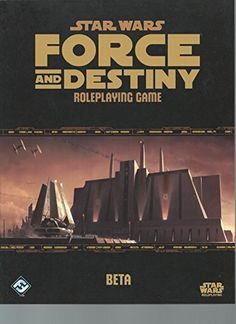 Black Friday Deal Star Wars Force and Destiny Beta RPG from Fantasy Flight Games Cyber Monday
