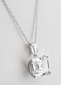 Diamantea catenina con pendente 118809 - Hse24.it