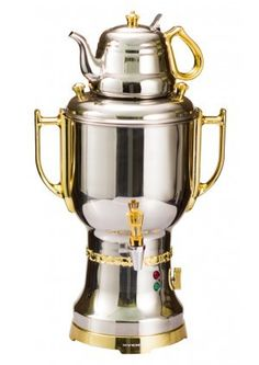 Check out Stainless Steel / Gold Ovente S15G Samovar Tea Maker on http://www.overtize.com for just $159.99!