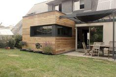 Petit Cube : Maisons modernes par Fabrick d'Architecture Nantaise