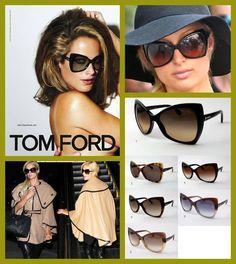 Uno de los modelos de TOM FORD que más gustan a  als celebrities. Escandalosamente sofisticado ! Un clásico ya de este diseñador.