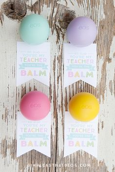 Eos youre the balm teacher thank you tags eos teacher and eos youre the balm teacher thank you tags negle Choice Image