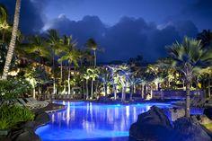 Kauai Wedding Resorts, Ceremony Locations, Restaurants, Spas by Destination Weddings Magazine includes Grand Hyatt Kauai & Spa. Kauai Hotels, Kauai Resorts, Hotels And Resorts, Kauai Vacation, Grand Hyatt Kauai, Best Holiday Packages, Kauai Wedding, Wedding Resorts, Destination Weddings