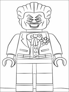 Lego Batman Coloring Pages 22