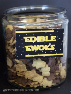 DID THIS...either call them Edible Ewoks or Wookie Cookies...used for May the Fourth