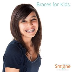 Braces are customised braces that are made after taking precise impressions and customise aligners for your teeth. #Braces #Kids #Teeth #Smiline