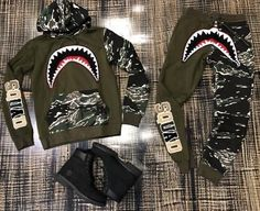 Dope Outfits For Guys, Swag Outfits Men, Fashion Outfits, Hype Clothing, Mens Clothing Styles, Bape Outfits, Bape Shirt, Champion Clothing, Black Nike Shoes