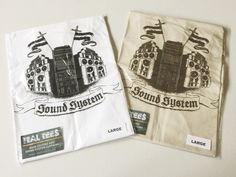 Exclusive Ital Tees Sound System Design on Heavyweight Cotton T-shirt